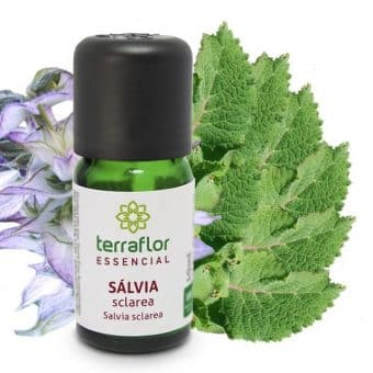 Óleo essencial de Salvia sclarea 10ml