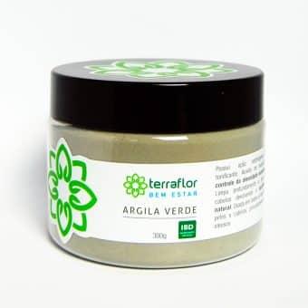 Argila verde 300g - Imagem meramente ilustrativa