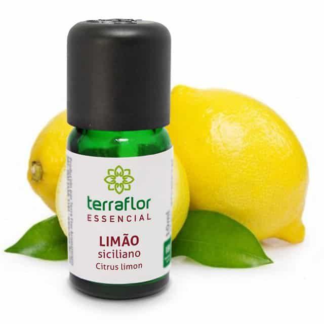 Óleo essencial de limão siciliano 10ml - imagem meramente ilustrativa