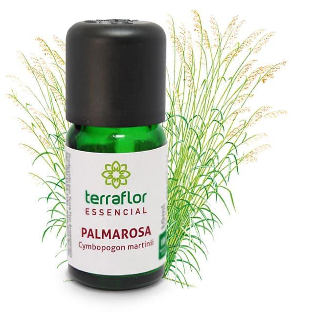 Óleo essencial de palmarosa 10ml - imagem meramente ilustrativa