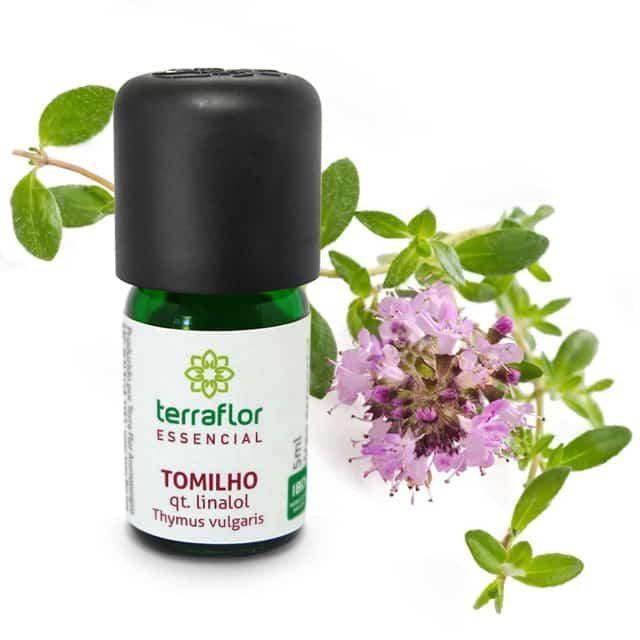 Óleo essencial de tomilho linalol 5ml - imagem meramente ilustrativa