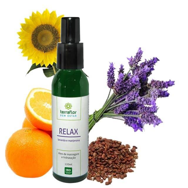 Óleo de massagem Relax 120ml - Imagem meramente ilustrativa
