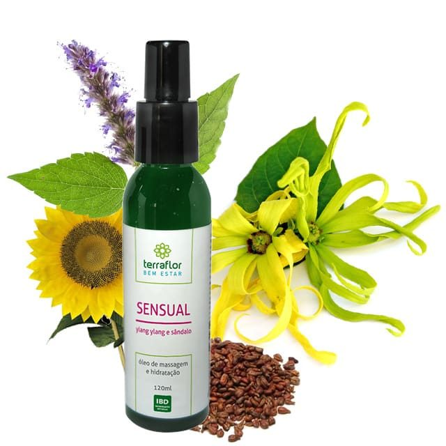 óleo vegetal de massagem sensual 120ml- imagem meramente ilustrativa