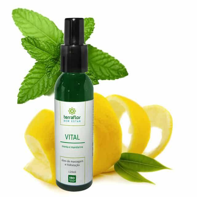 óleo vegetal de massagem vital 120ml- imagem meramente ilustrativa