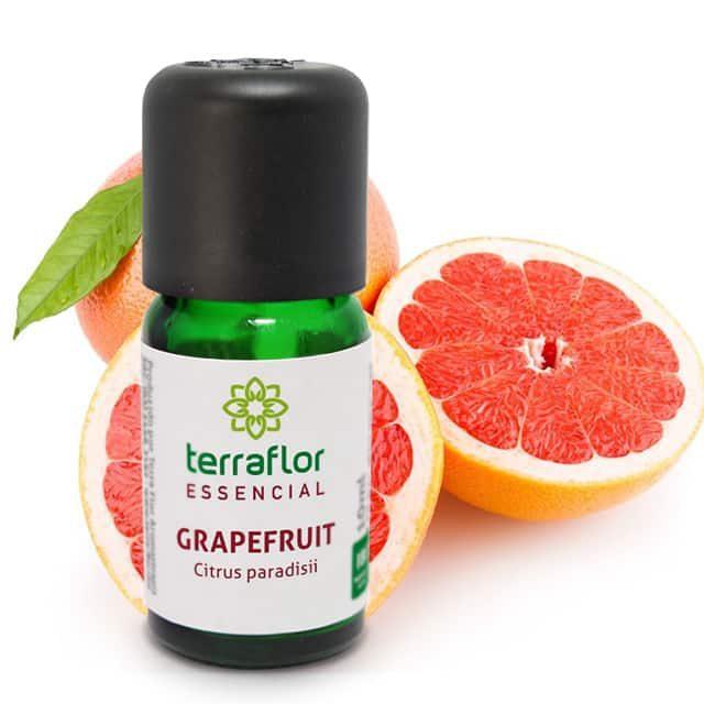 Óleo essencial de grapefruit 10ml - imagem meramente ilustrativa