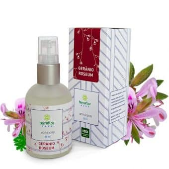 Aroma spray Gerânio roseum 60ml - Imagem meramente ilustrativa