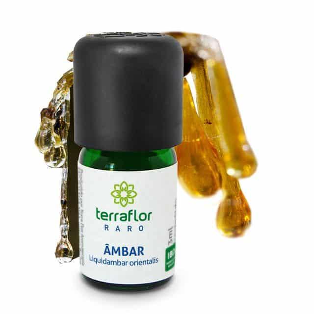 Óleo essencial resinóide de Âmbar 3ml - Imagem meramente ilustrativa