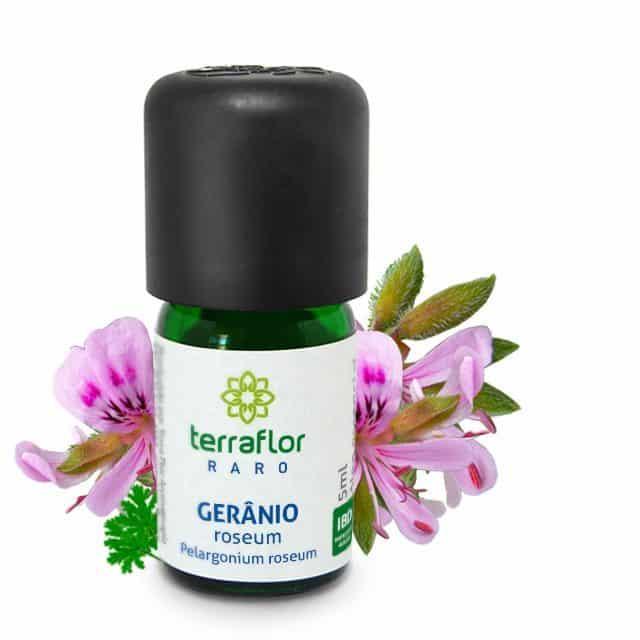 Óleo essencial de Gerânio roseum 5ml - Imagem meramente ilustrativa