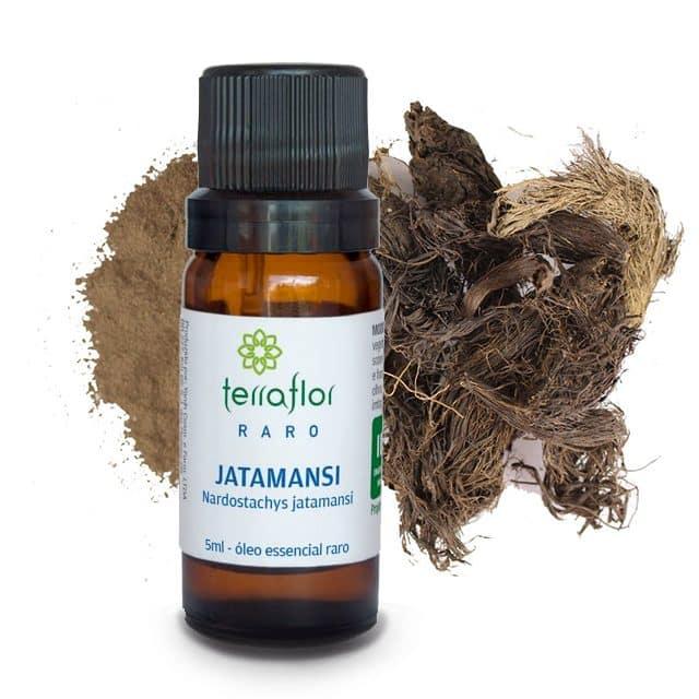 Óleo essencial de Jatamansi 5ml - Imagem meramente ilustrativa