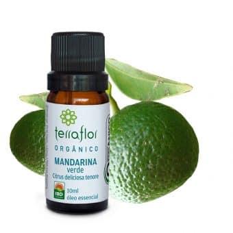 Óleo essencial de Mandarina verde orgânico 10ml - Imagem meramente ilustrativa