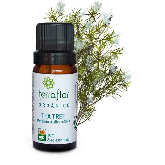 Óleo essencial de Tea Tree orgânico 10ml - Imagem meramente ilustrativa