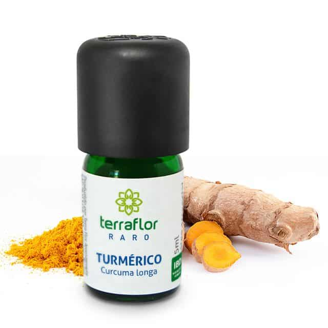 Óleo essencial de Turmérico 5ml - Imagem meramente ilustrativa
