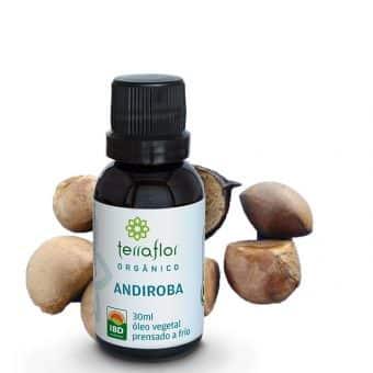 Óleo vegetal de Andiroba orgânico 30ml - Imagem meramente ilustrativa