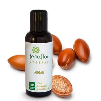 Óleo vegetal de Argan 120ml - Imagem meramente ilustrativa