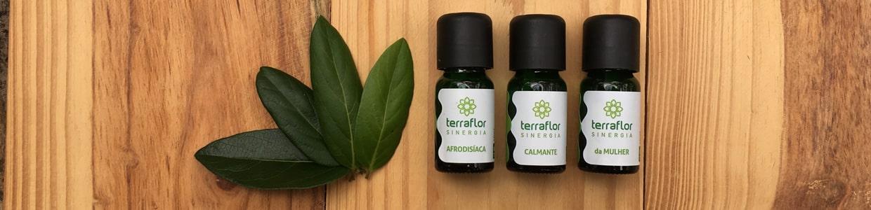 Blend de óleos essenciais - Sinergias Terra Flor - SR