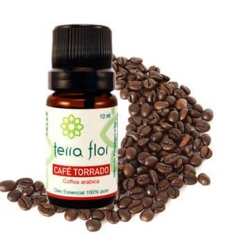 Óleo essencial de Café torrado 10ml - Imagem meramente ilustrativa