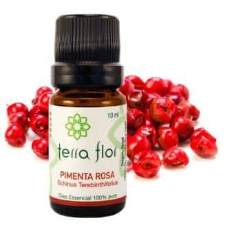 Óleo essencial de Pimenta rosa 10ml - Imagem meramente ilustrativa